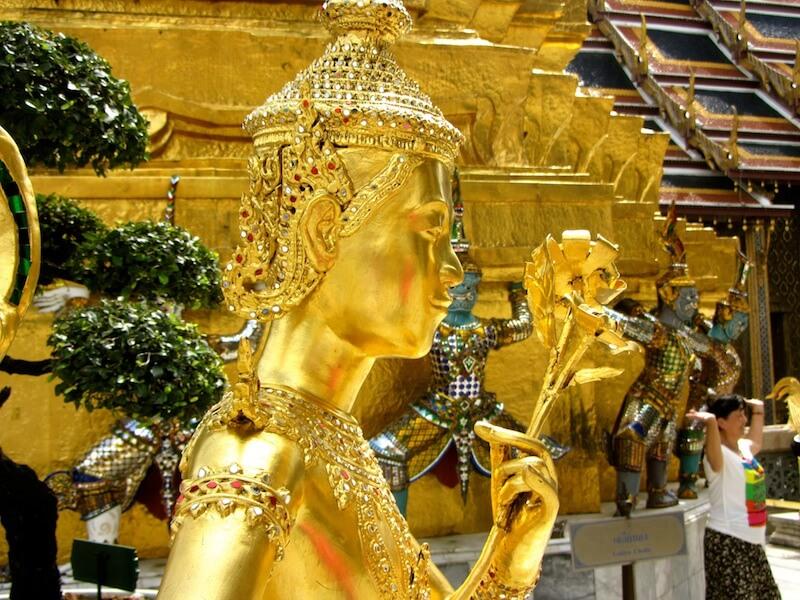 The Grand Palace at Bangkok