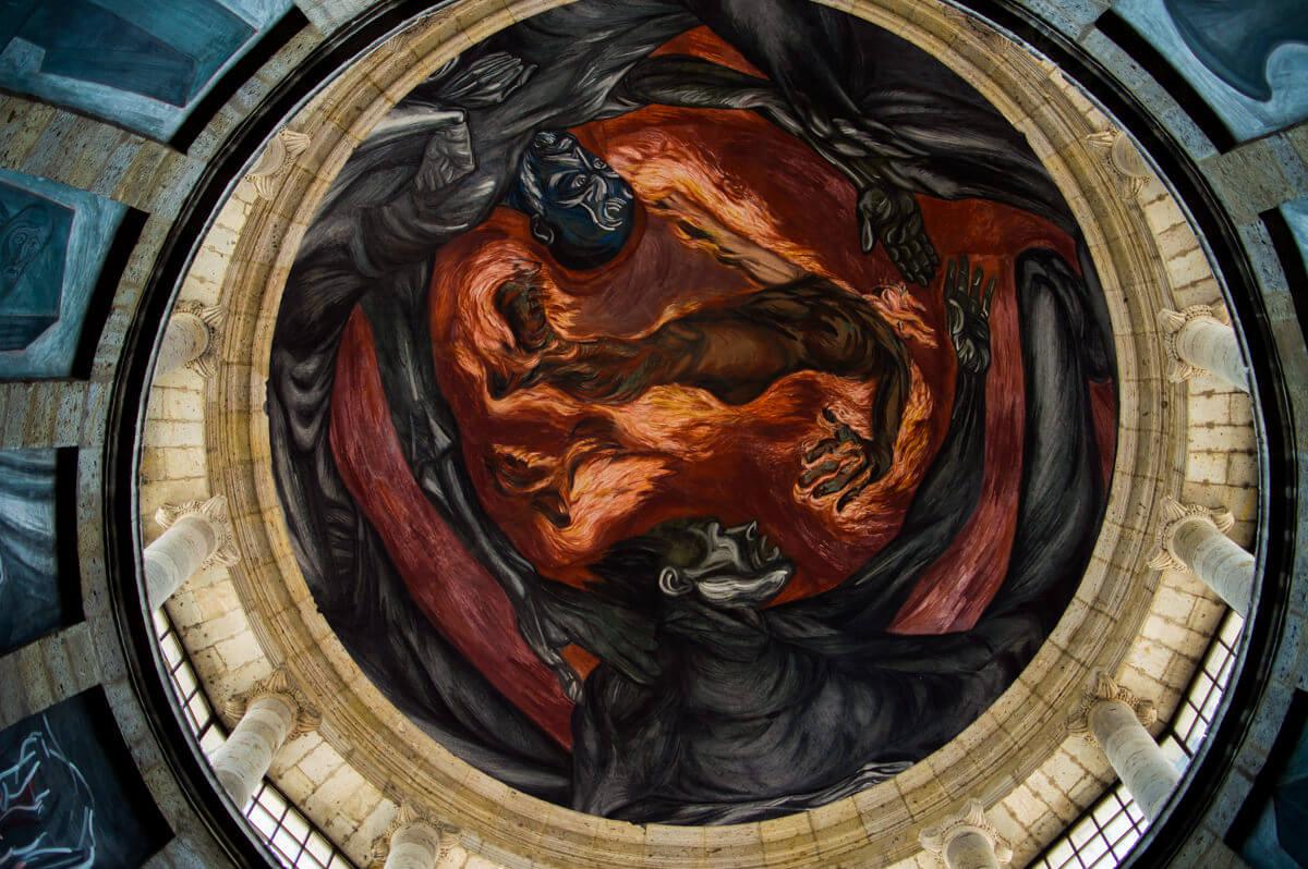 Orozco Mural at Guadalajara