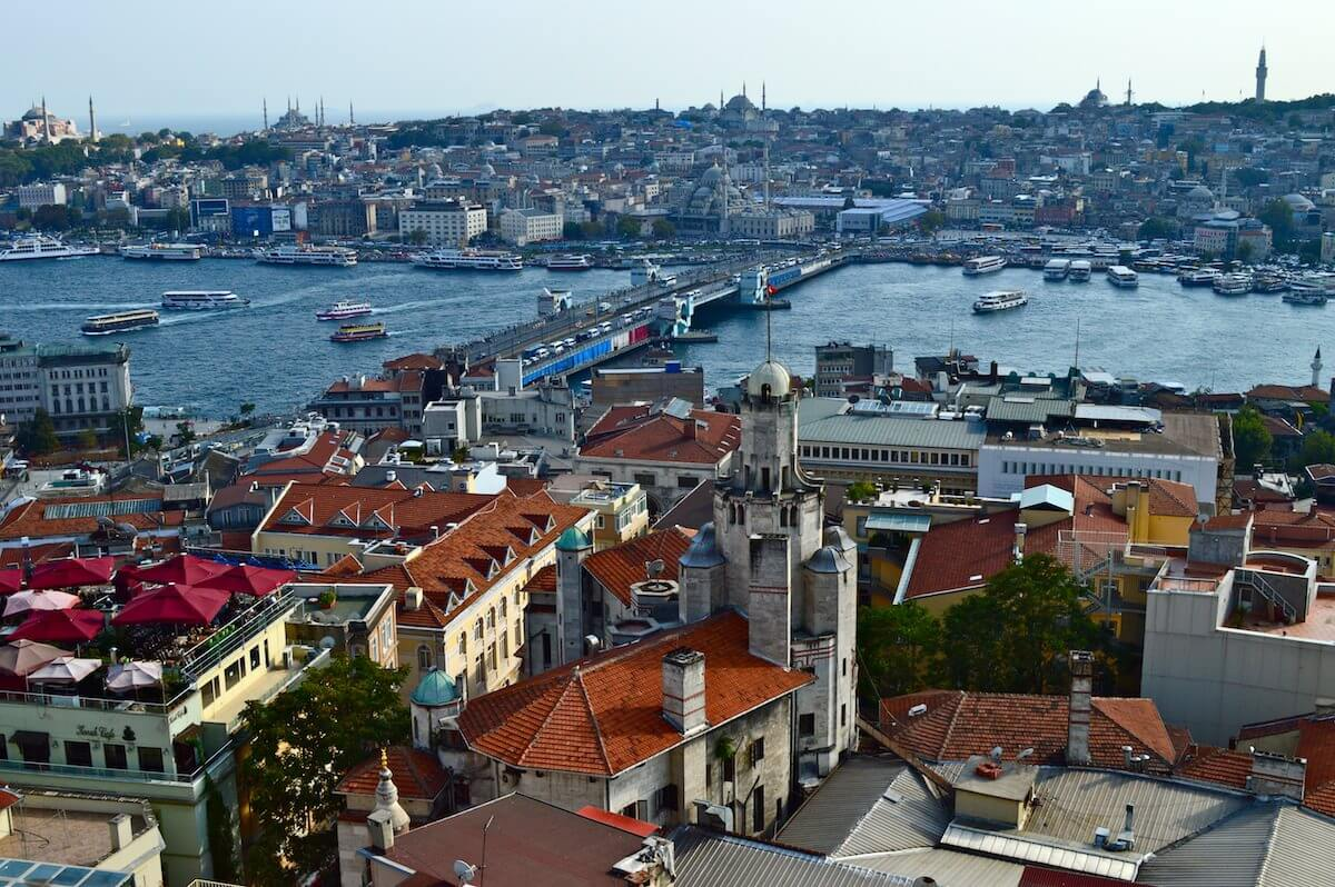 Istanbul seen from Galata Tower