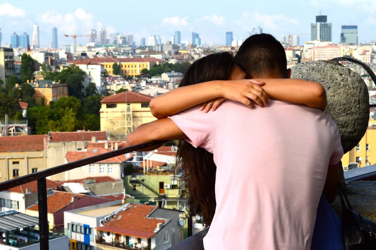 Love at the Galata Tower