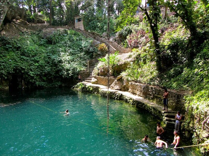 The Zaci Cenote
