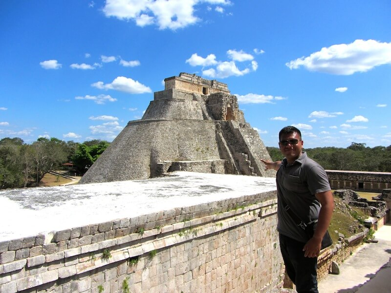 Uxmal and the Pyramid of the Magician
