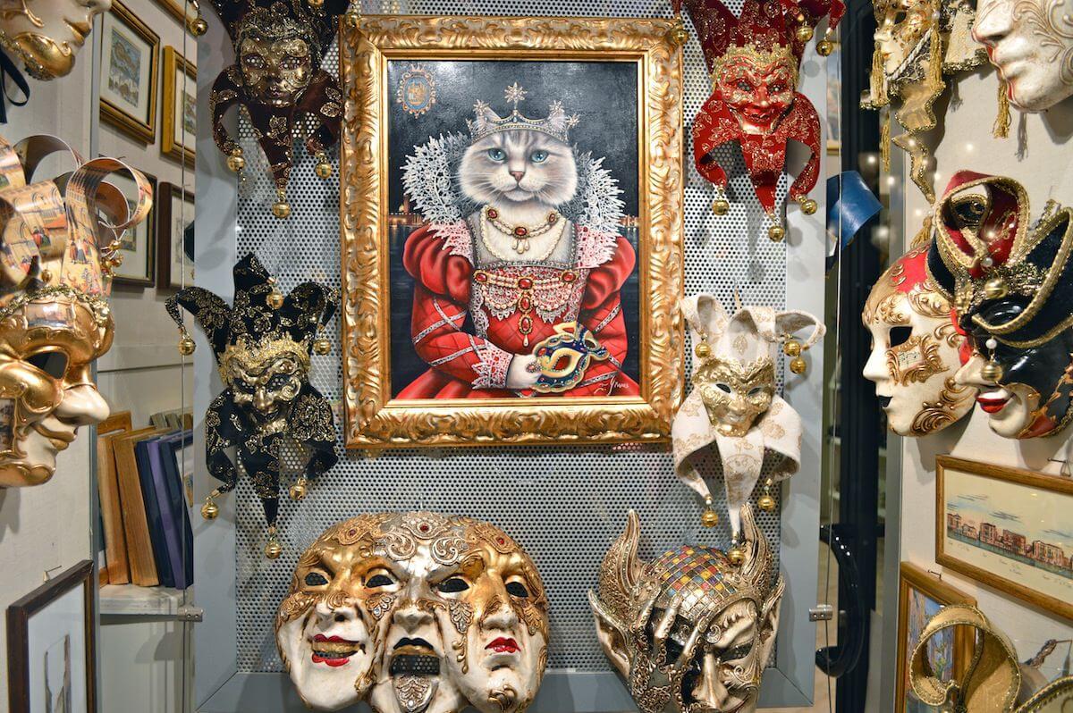 Souvenirs at Venice