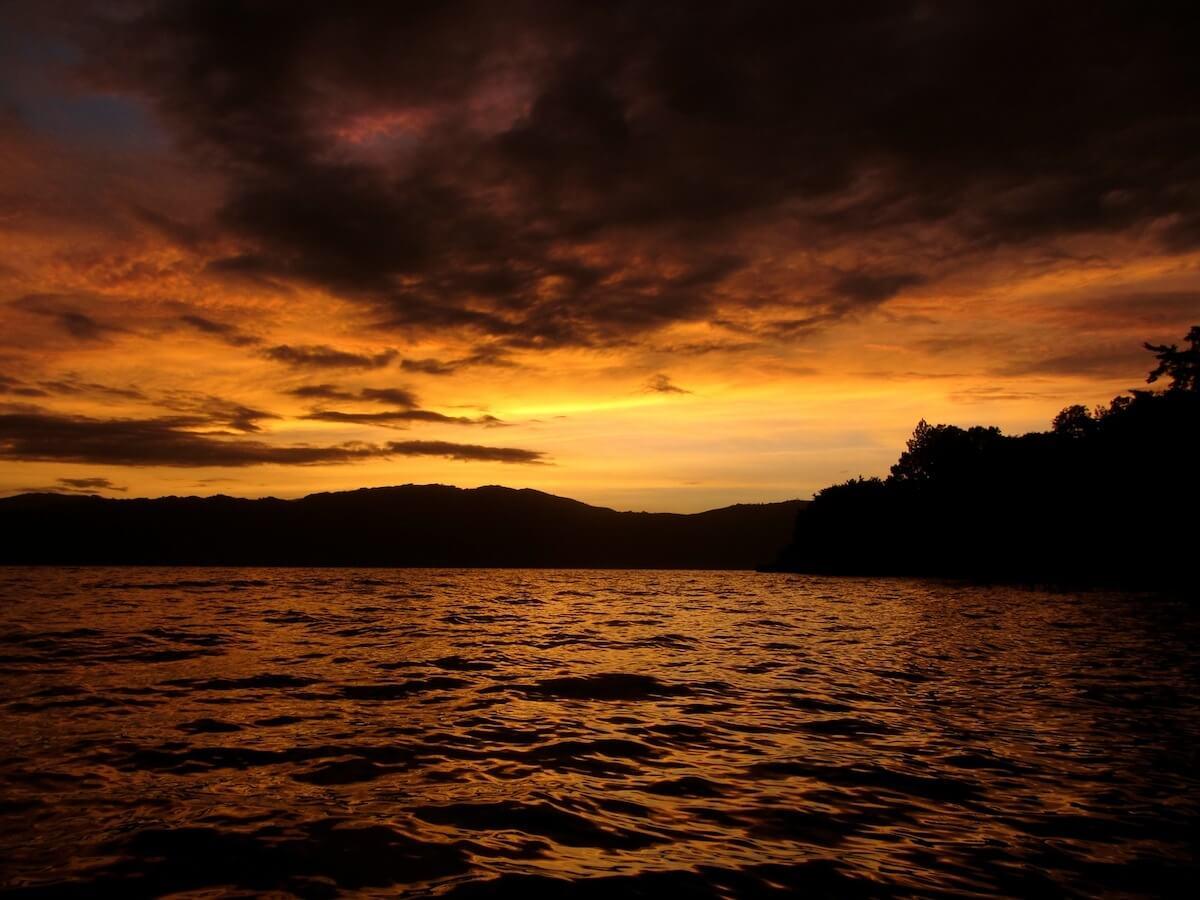 Sunrise at Lake Atitilan, Guatemala