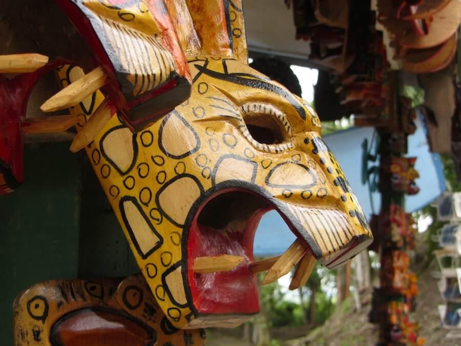 Souvenir mask Belize
