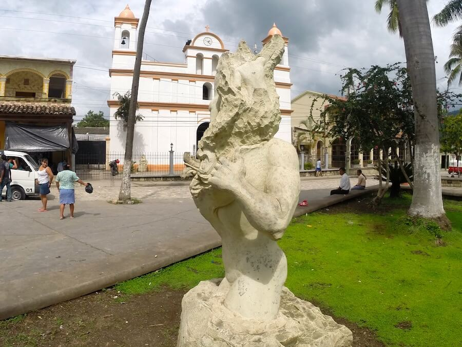 The town of Copan Ruinas