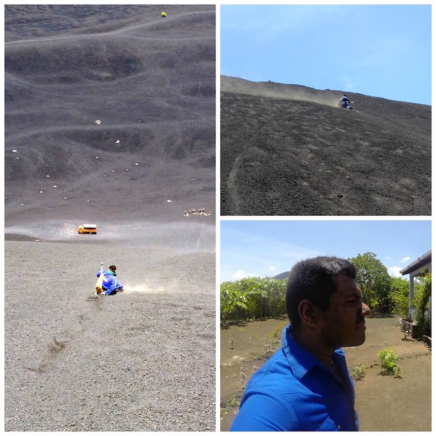 Volcano Boarding at Cerro Negro