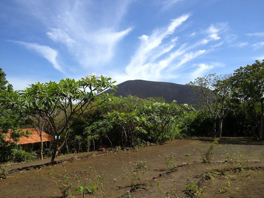Cerro Negro seen from the ranger base