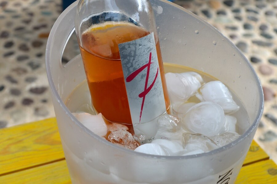 A bottle of Ramawine