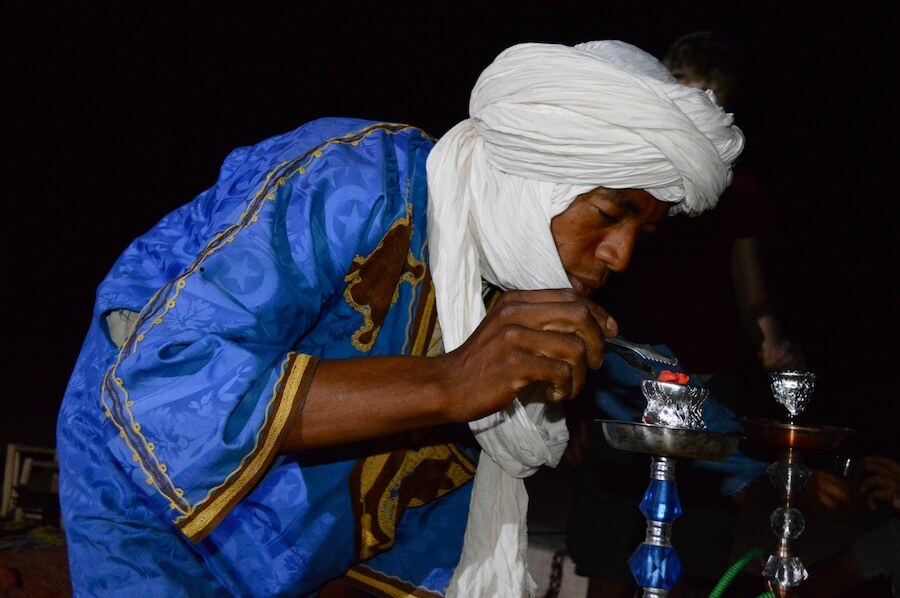 Berber hospitality at the Sahara desert