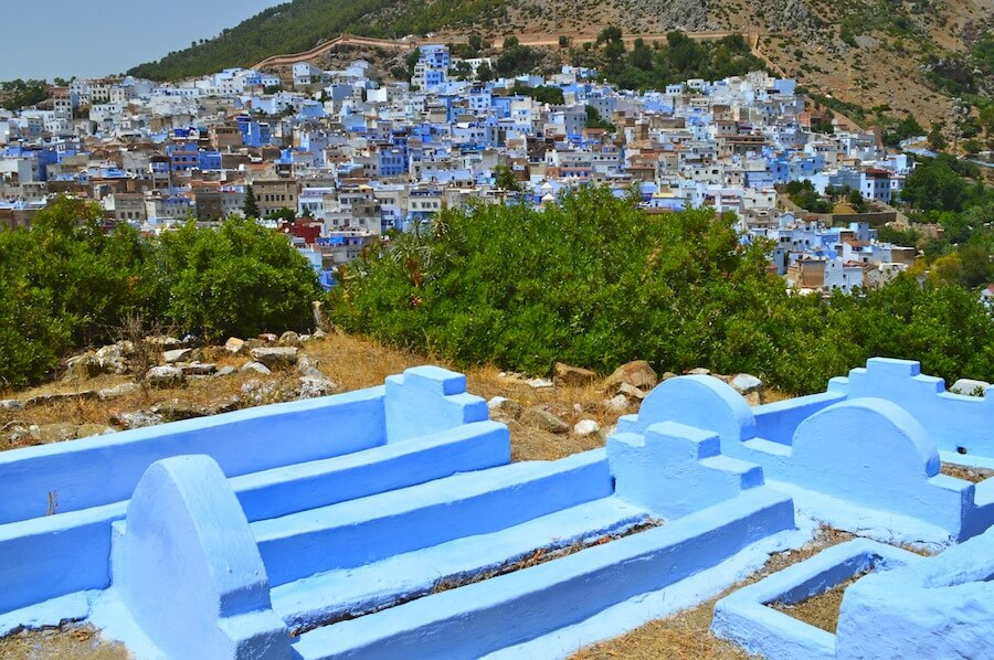 Chefchaouen, 50 shades of blue