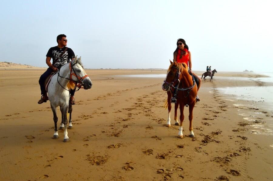 Horse riding at Essaouira