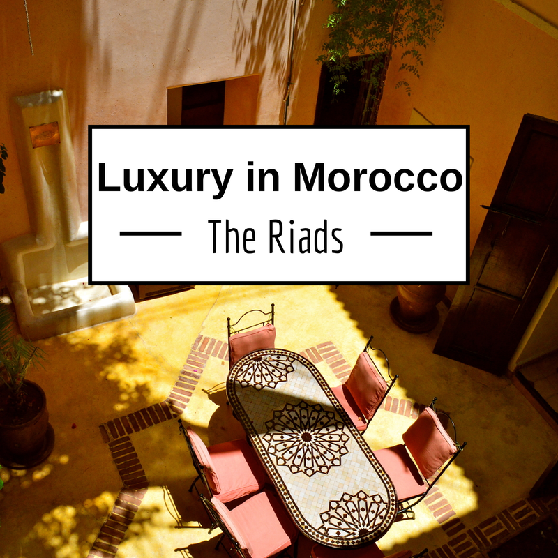 The best riads of marrakech luxury in morocco for Best riads in marrakesh