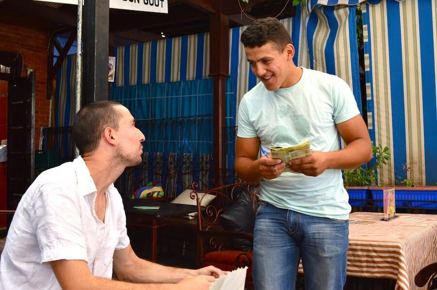 Moroccan scam artist
