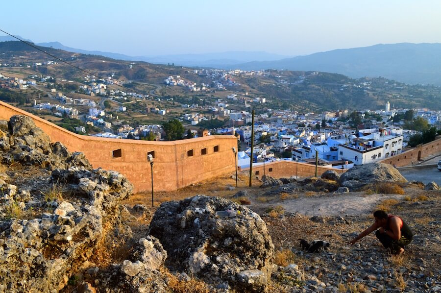 Outside the walls of Chefchaouen