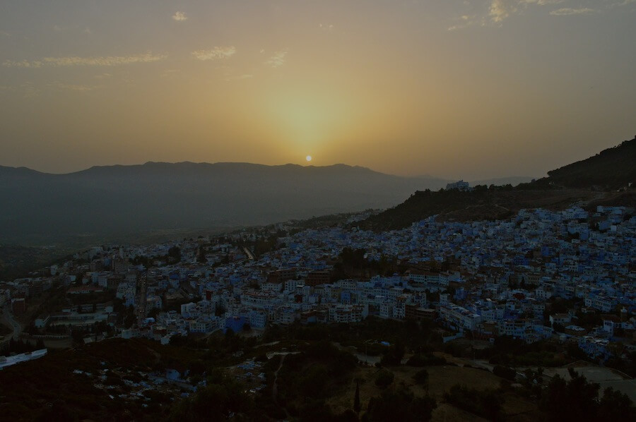 Sunset at Chefchaouen