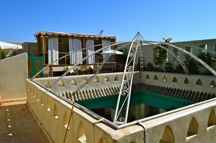 Terrace of Riad Lak Lak