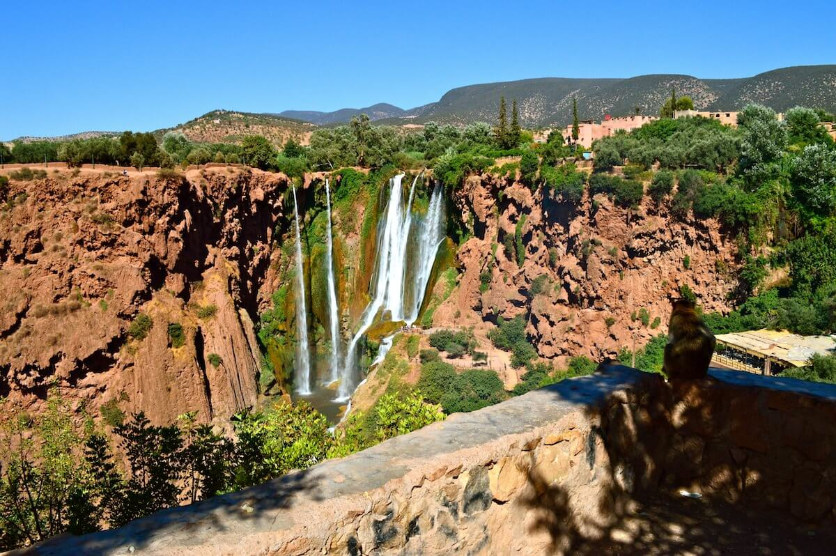 The Ozoud Waterfalls of Morocco