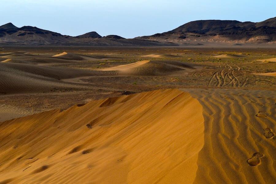 The Sahara desert. Zagora, Morocco