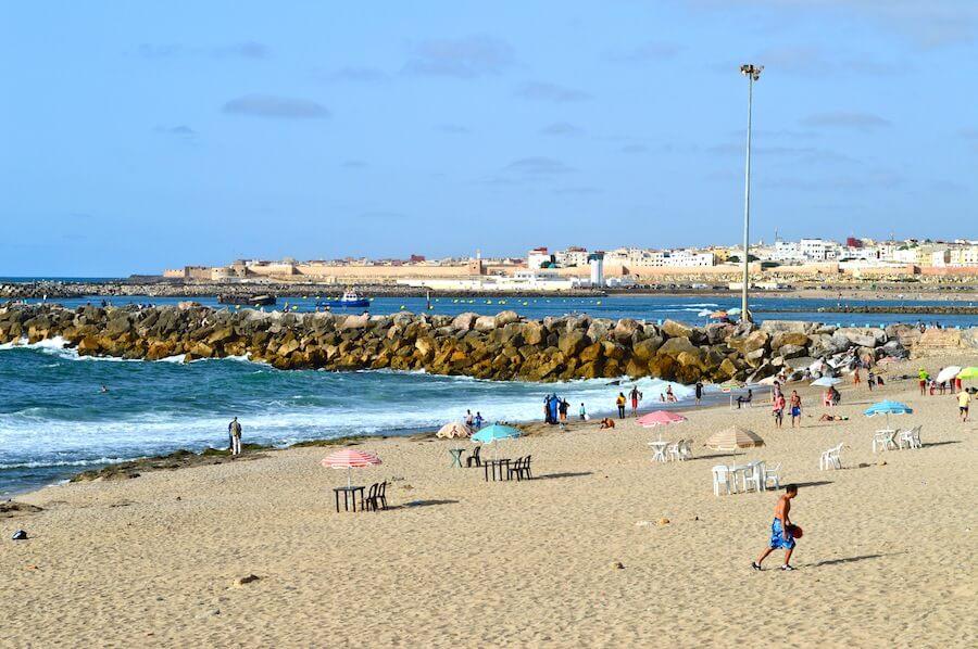 Beach of Rabat