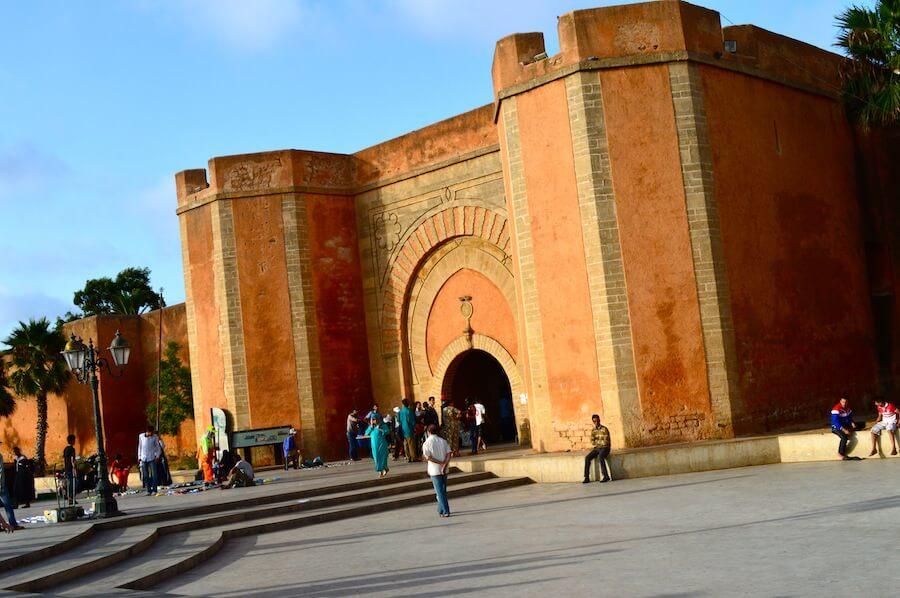 Main gate to the Medina of Rabat