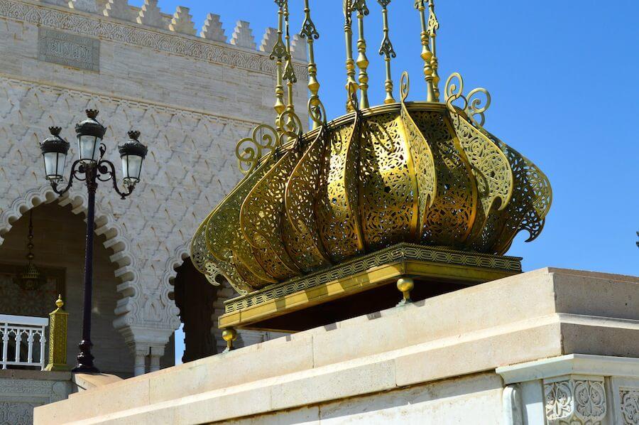 Mausoleum of King Mohammed V in Rabat