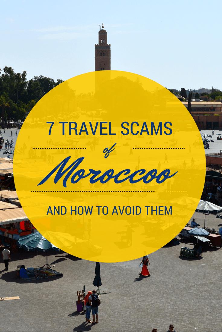 Morocco Travel Scams