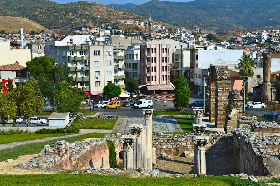 Modern day Selçuk, Turkey