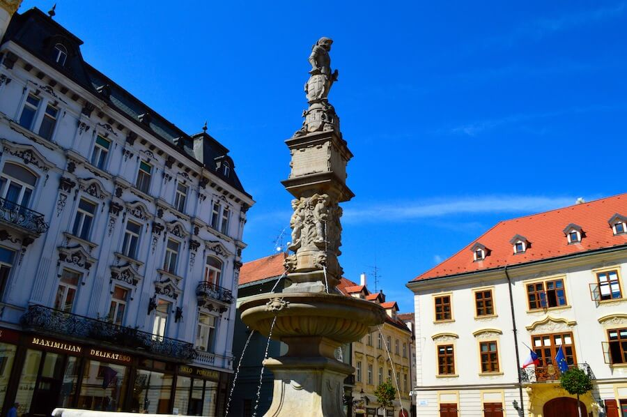 Old Town Square of Bratislava