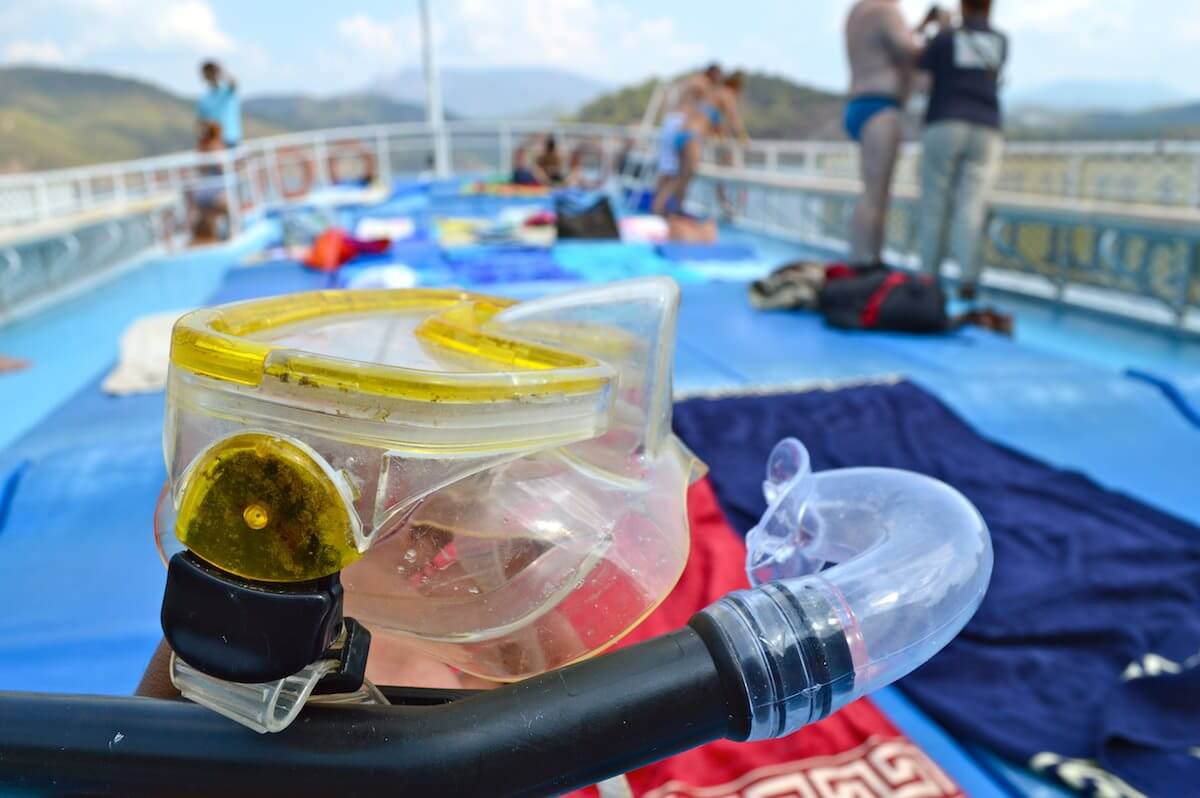 Snorkeling at Fethiye 12 Islands