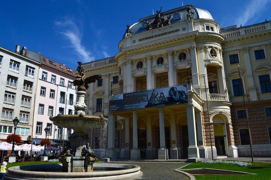 The Bratislava Opera House