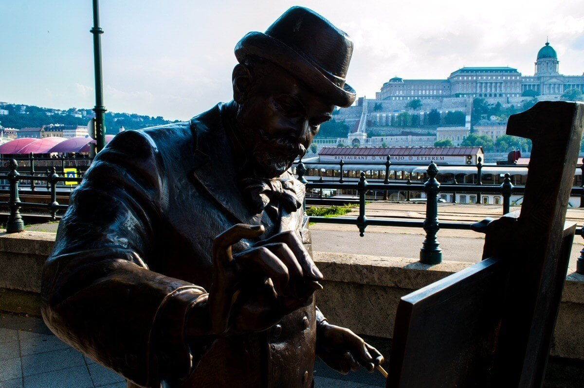 Self guided walking tour of Budapest