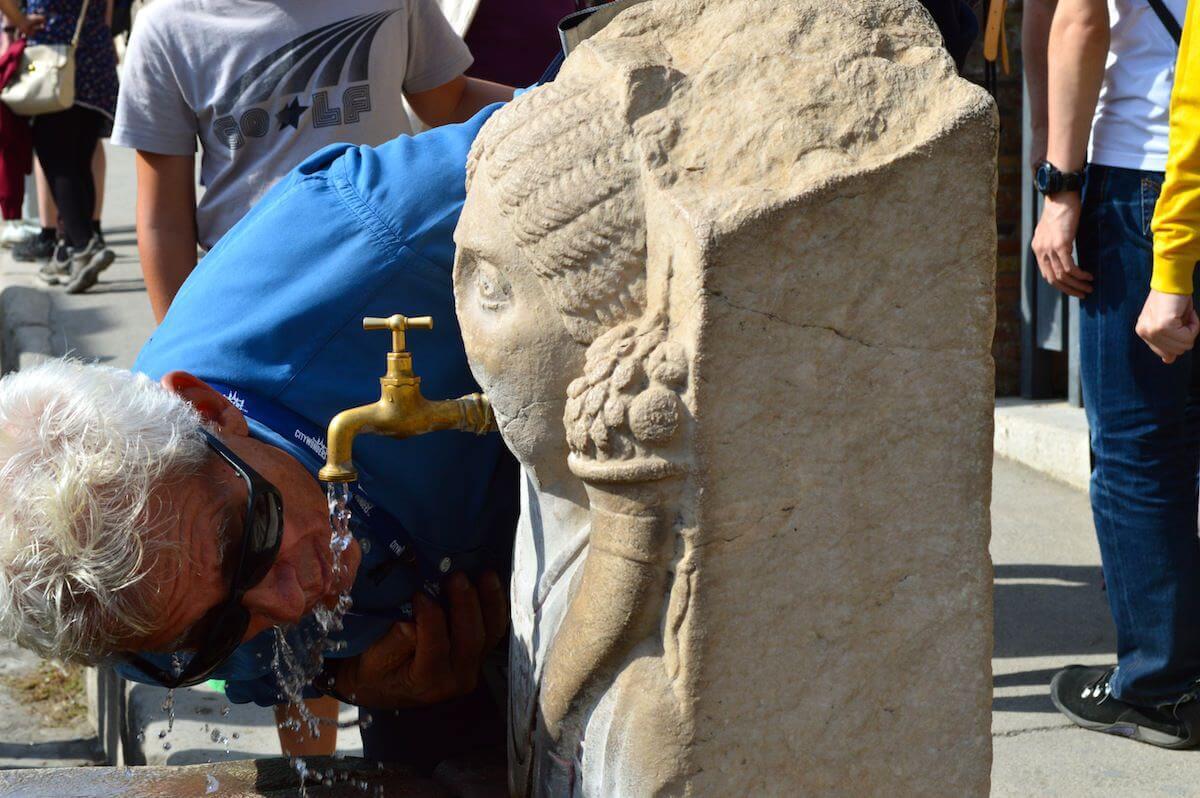 The fountains of Pompeii