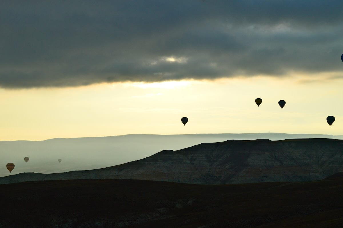 Hot Air Balloon Cappadocia Storm