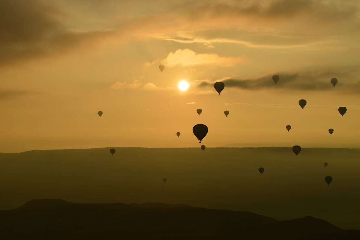 Hot Air Balloon Cappadocia Sunrise