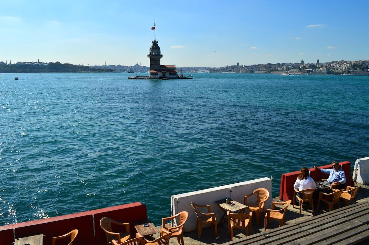 The Maiden's Tower of Istanbul