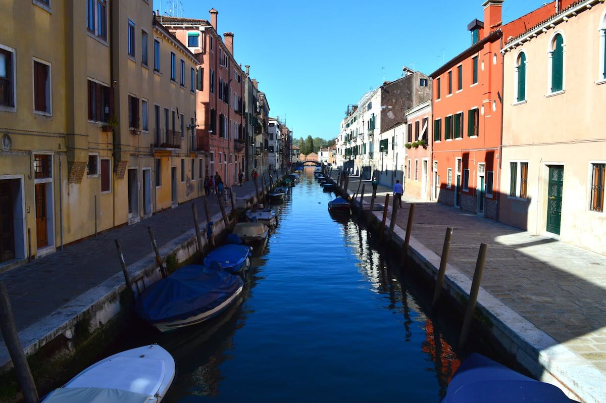 Venice during low season