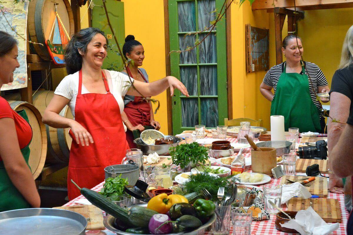 Cooking classes at Athens