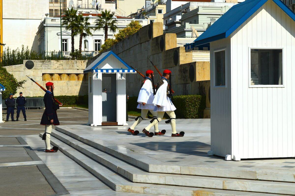 Guards at Athens
