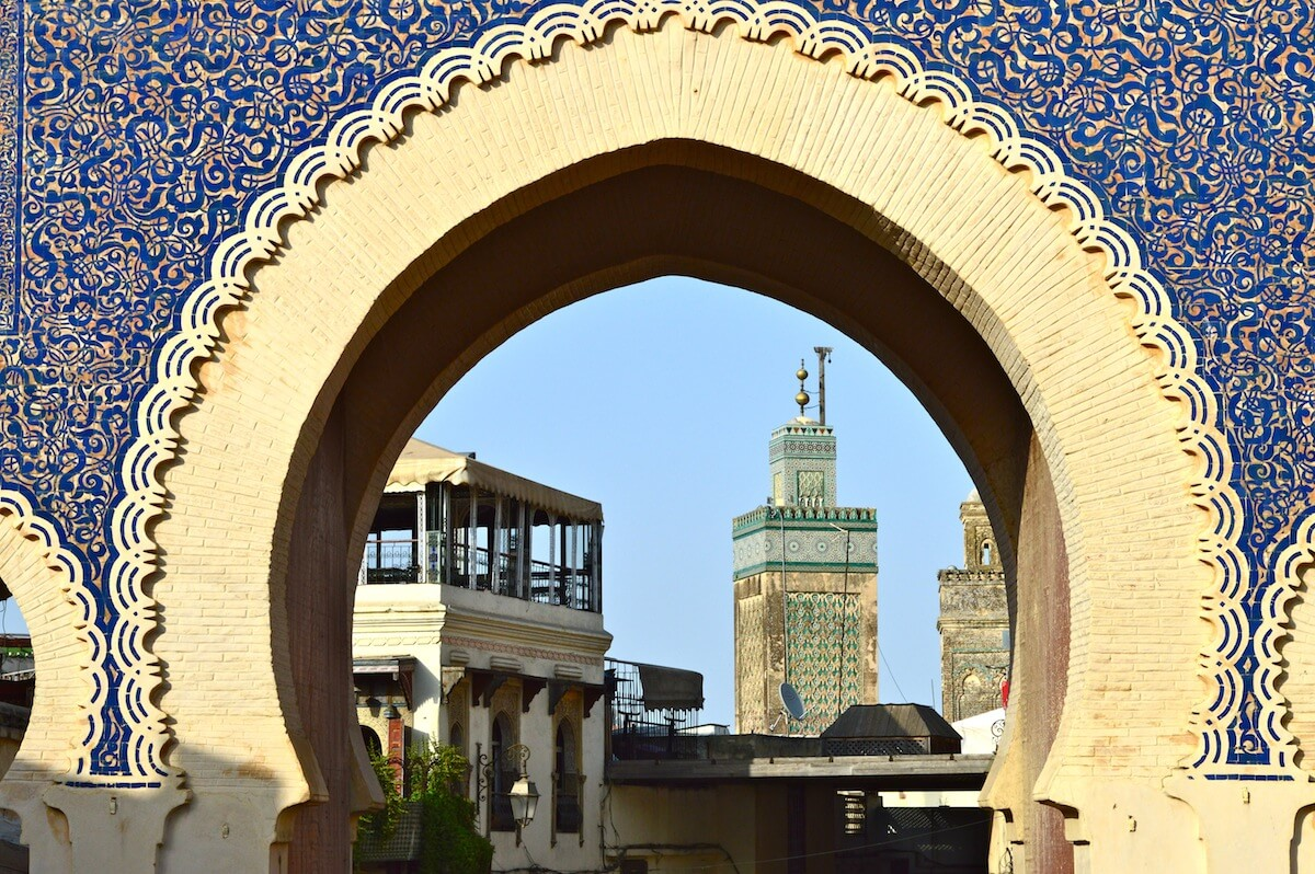 Islamic Art at the gate of Fez