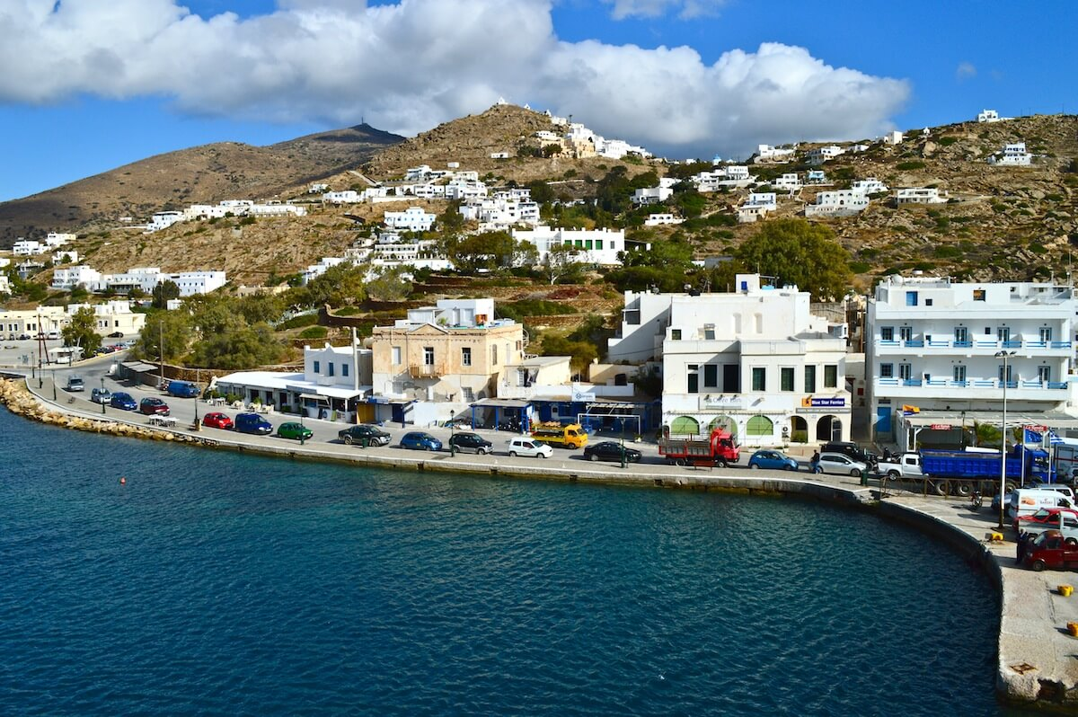 Naxos, the island between Ahtens and Santorini