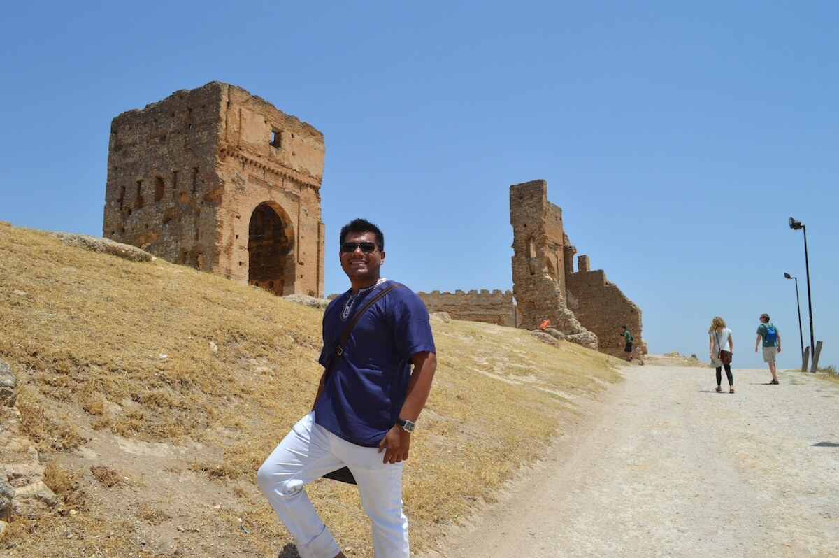 Raphael Alexander at Fez, Morocco