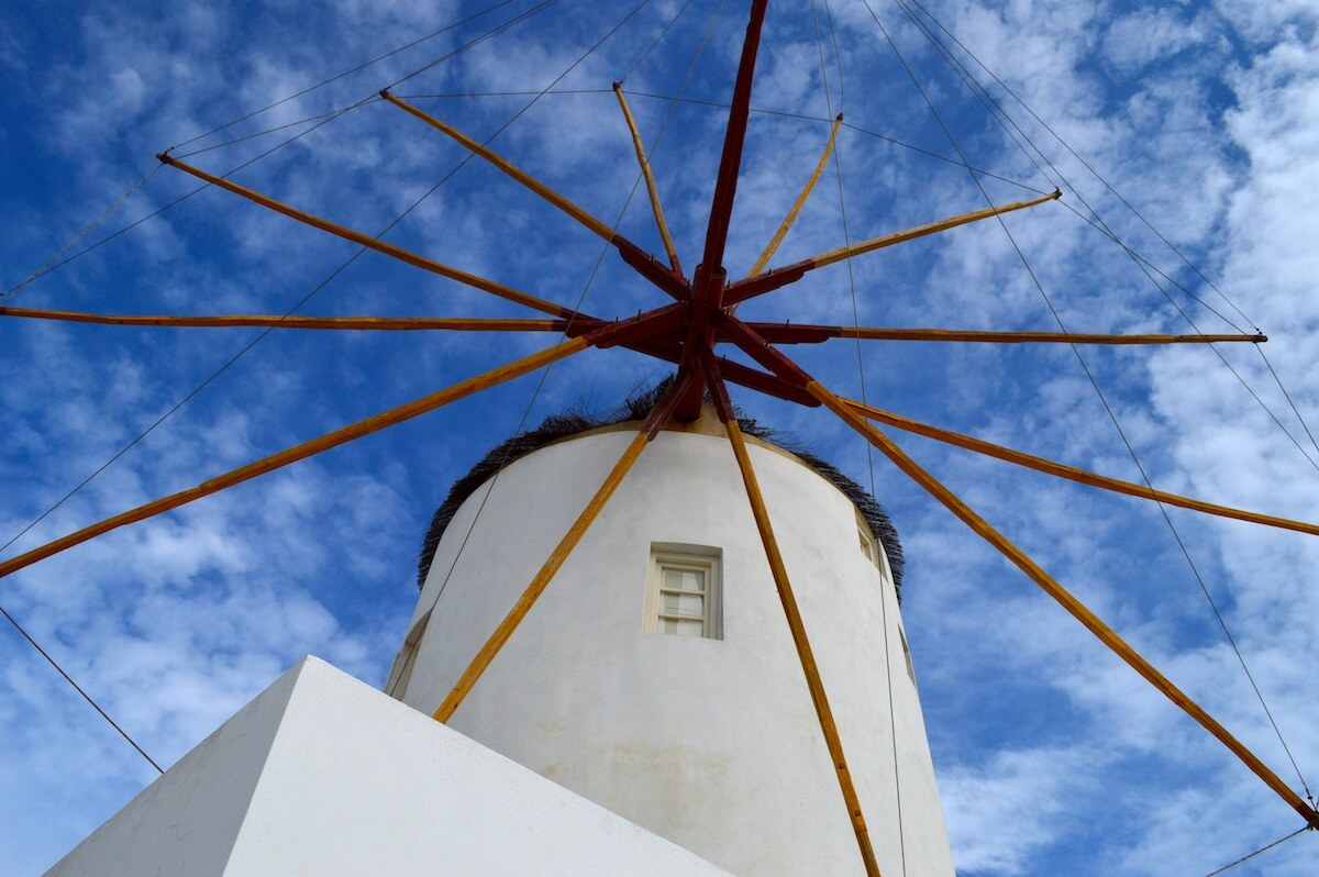 The Windmill at Oia, Santorini