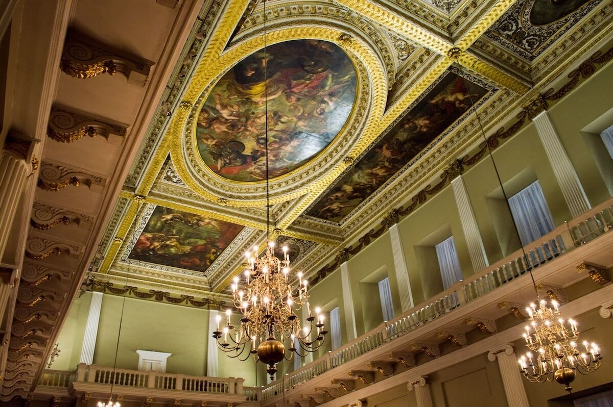 Banqueting Hall, place of royal luxury and execution