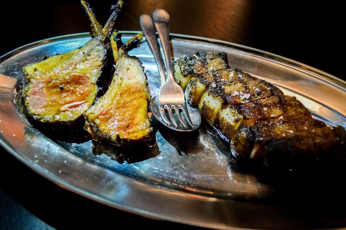 Birthday steak at Grotesk