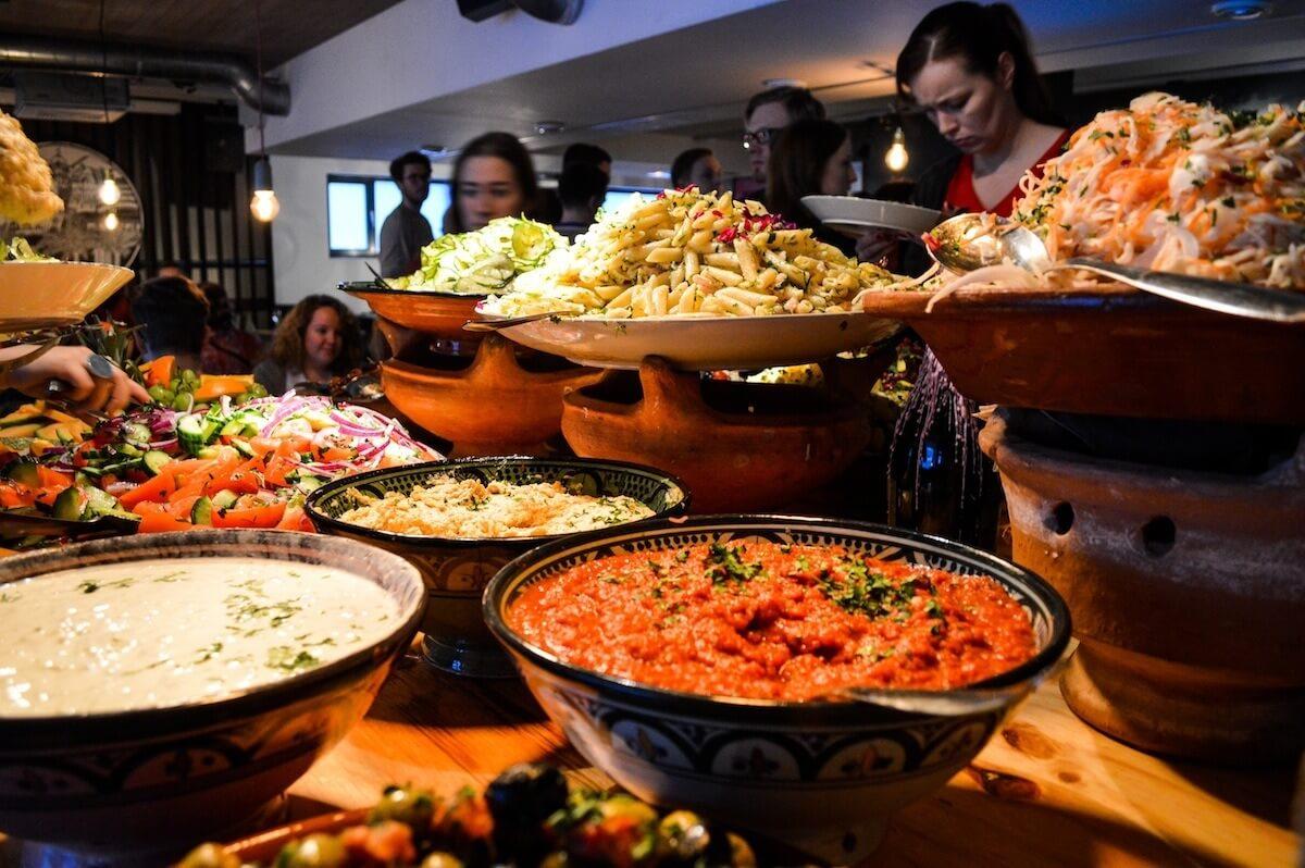 Brunch buffet at Sandro