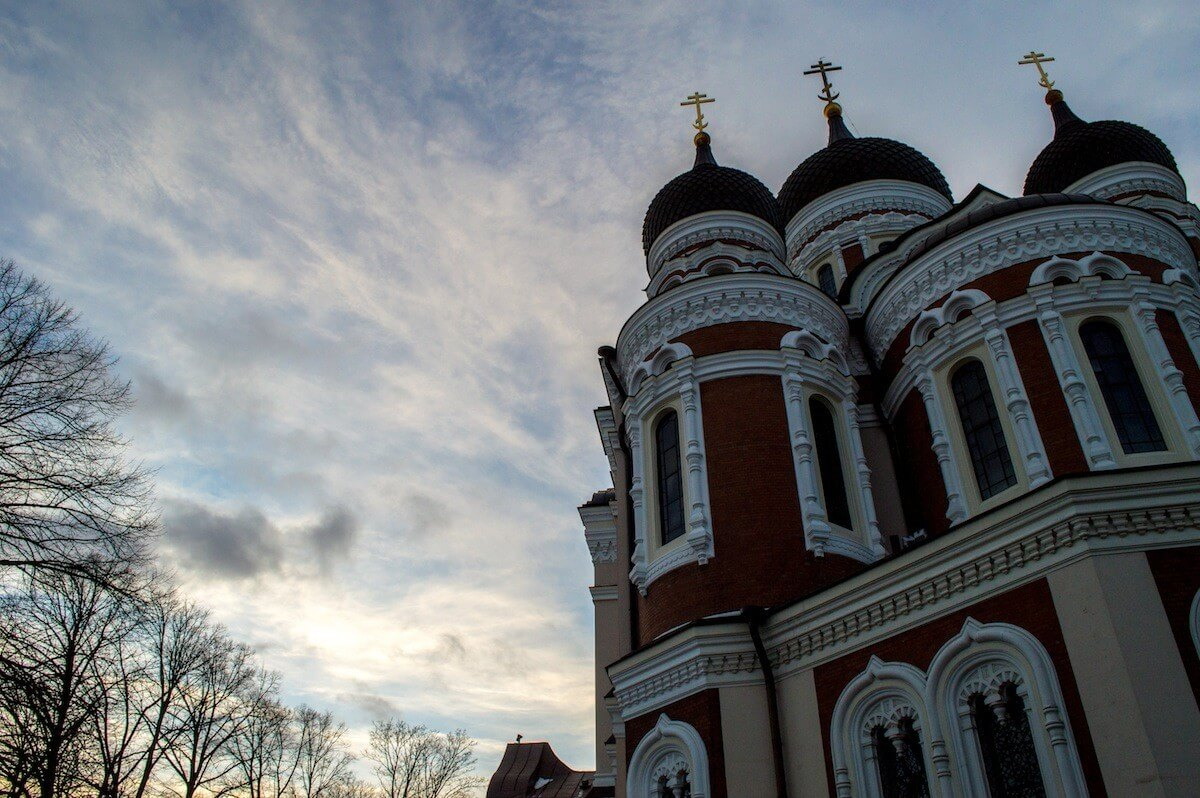 Orthodox Church at Tallinn, Estonia