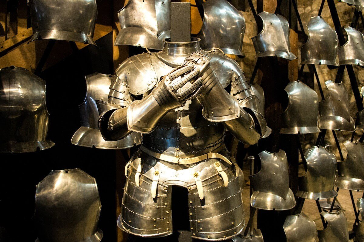 Henry the VIII armor at the Tower of London