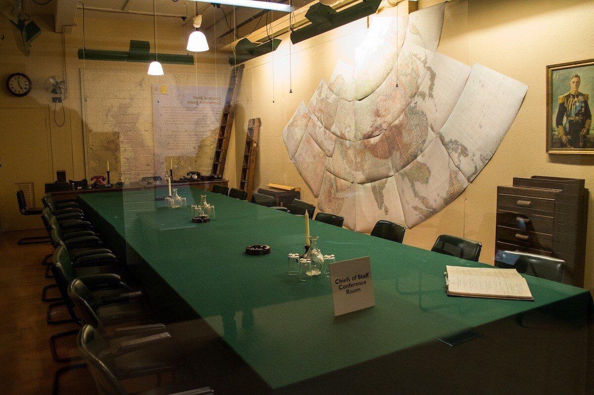Inside Churchill's War Rooms at London