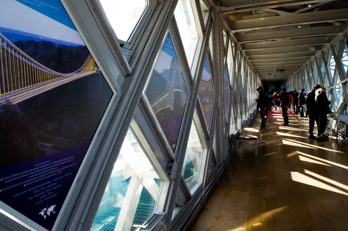 Inside Tower Bridge, London
